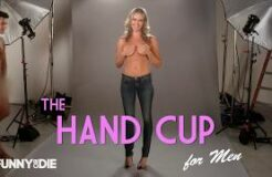 The Hand Bra by Rebecca Romijn