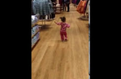 Mommy Said No Running! But OK To Dance?