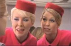 Air Afrikaans Funny Flight Attendants