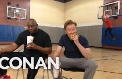Conan Plays Horse With Magic Johnson