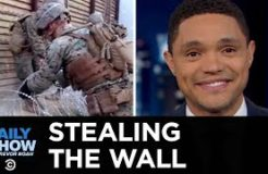 Mexicans Have Been Stealing Pieces of The Wall | The Daily Show