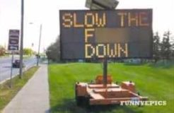 Try Not To Laugh – The Funniest Road Signs Photo Compilation