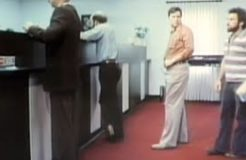 Candid Camera Classic: Stuck on Bank Line