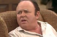 Archie Bunker explains why cave women had short legs & fat butts