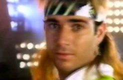 Nike - Andre Agassi, Red Hot Chili Peppers - Nike - 1990