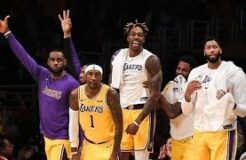 FUNNY LAKERS BENCH REACTION MOMENTS 2020 (PART 1)