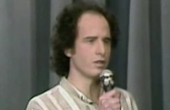 Comedian Steven Wright, Tonight Show, 1984