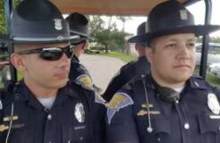 "Indiana State Troopers Lip Sync ""Summer Nights"""