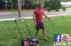 Easiest Way to Cut Your Grass with Uncle Rob